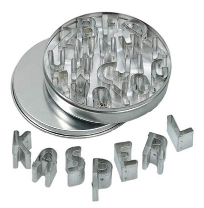 Image de Formes à découper en métal lettres