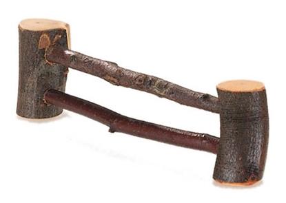 Image de Clôture en bois de branches