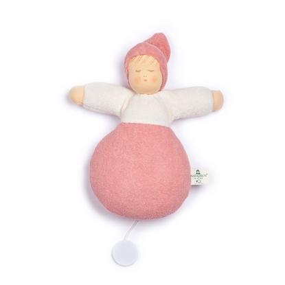 Image de Poupée boîte à musique rose