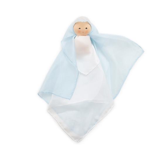 Image sur Poupée de soie bleue