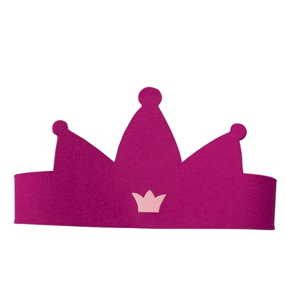 Image de Couronne de princesse rose