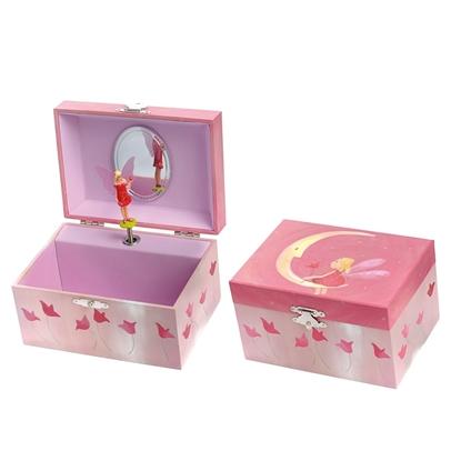 Image de Boîte à bijoux avec musique et fée