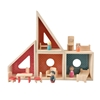 4 modules to be arranged as wished, included dolls and doll furniture.