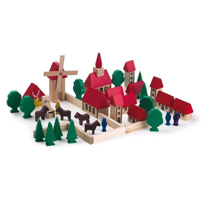Image de Petit village en bois
