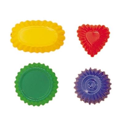 Image de Set de 4 formes à sable multicolores