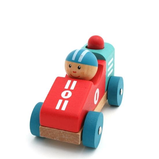 Image sur Voiture de course pour bébé, avec claxon
