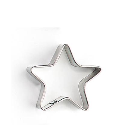 Metalen uitsteekvormpje ster